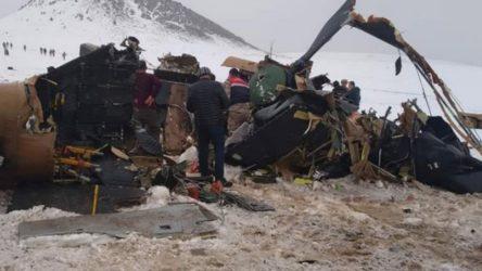 MSB'den helikopter kazası açıklaması