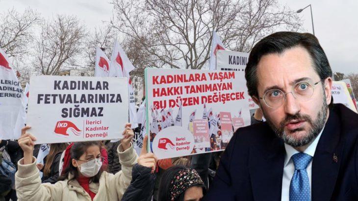 İKD'den Fahrettin Altun'a yanıt: Laiklikten vazgeçmeyeceğiz!