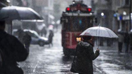 İstanbul için 'sağanak yağış' uyarısı