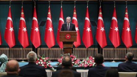 Kabine toplantısı bitti: Erdoğan konuşuyor
