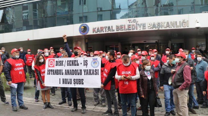 Kartal Belediyesi sendika ile toplu sözleşme imzaladı: İşçiler tepkili