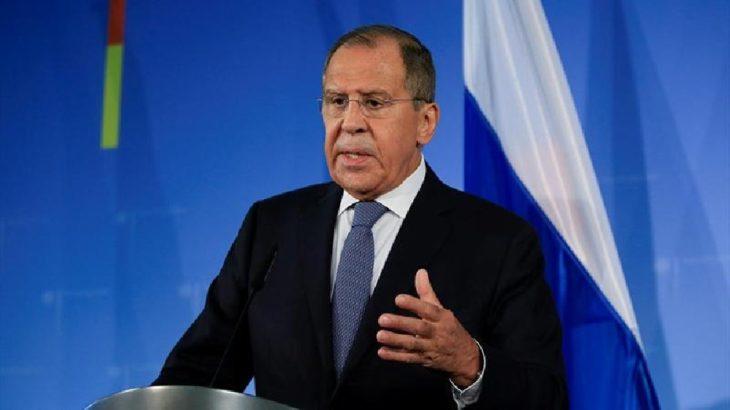 Lavrov'dan Türkiye'ye mesaj: Kiev'e silah satmayı planlamadan önce Ukrayna'daki Neo-Nazilerin eylemlerini akılda tutun