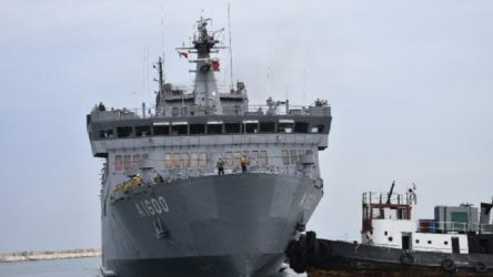 Milli Savunma Bakanlığı: Lübnan ordusuna 260 ton yiyecek ve temizlik ürünü gönderildi
