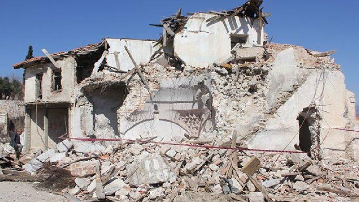 Maden şirketi 6 asırlık hamamı yıktı