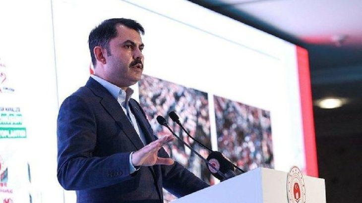 Murat Kurum: Kanal İstanbul projesinin imar planlarını onayladık