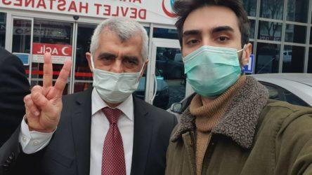 Meclis'te gözaltına alınan Ömer Faruk Gergerlioğlu serbest bırakıldı