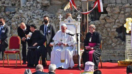 Papa'nın bir sonraki durağı Lübnan