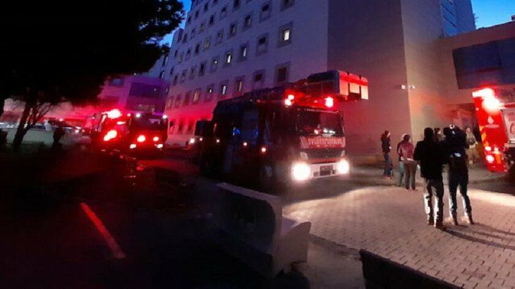 İstanbul'da Zeynep Kamil Hastanesi'nde yangın