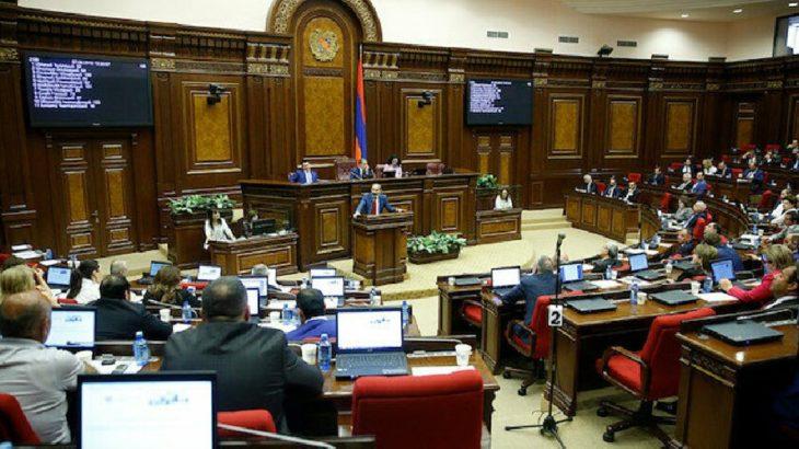 Ermenistan 'savaş durumu'nu kaldırdı