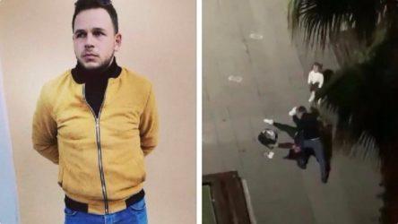 Samsun'da eski eşini kızının gözleri önünde öldüresiye döven saldırgan tutuklandı