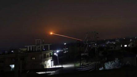 İsrail'den Şam'a hava saldırısı: Hava savunma sistemleri karşılık veriyor