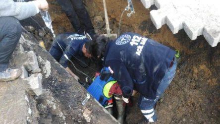 Göçük altında kalan 25 yaşındaki işçi yaşamını yitirdi