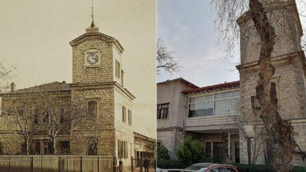 Tarihi binaya kaçak PVC doğrama yaptırdılar