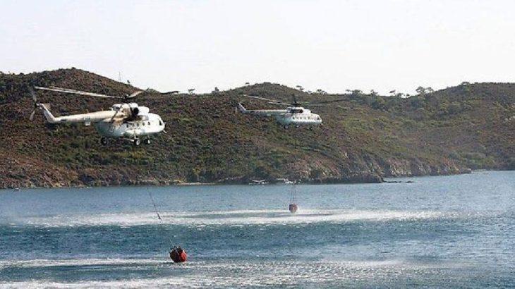 Ne söndürme uçağı ne de helikopteri kiralayamadılar