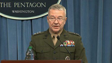 ABD'li general: SDG Suriye'deki ABD askerlerini koruyan güç