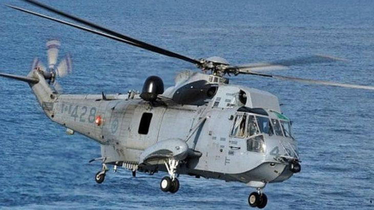İzmir'de askeri helikopter düştü
