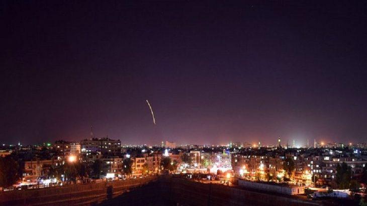 Suriye'den İsrail'e füze atıldı