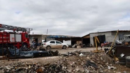 Sivas OSB'de patlama: 5 yaralı