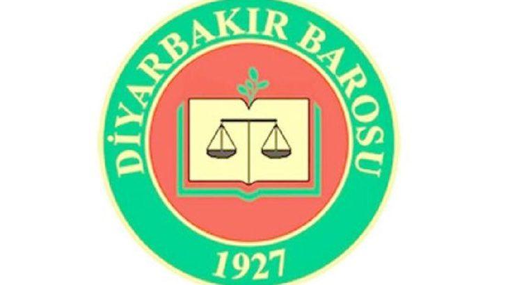 Diyarbakır Barosu'na hakkında soruşturma başlatıldı