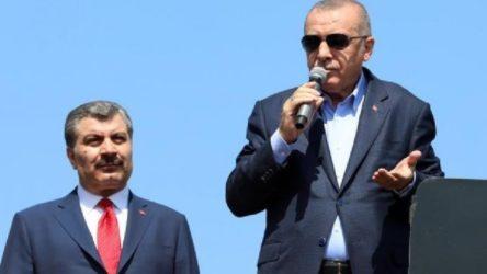 Erdoğan, Fahrettin Koca'yı yalanladı