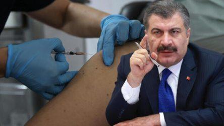 Fahrettin Koca'dan 'aşıda israf' yanıtı