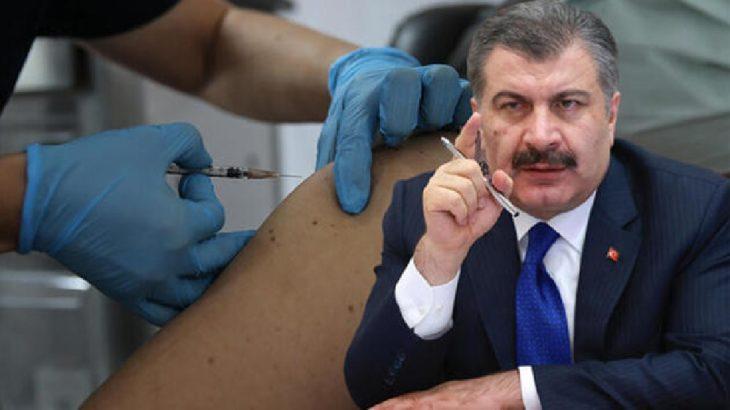 Fahrettin Koca: Aşı sırası 55 yaşından büyüklere geldi