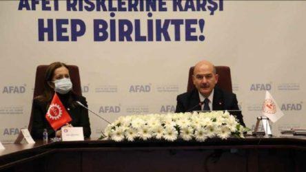 AFAD ile DİSK arasında protokol