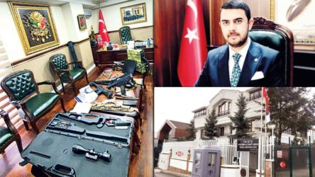 AKP'lilerle fotoğraflar çektiren şahıs, dolandırıcılıktan tutuklandı