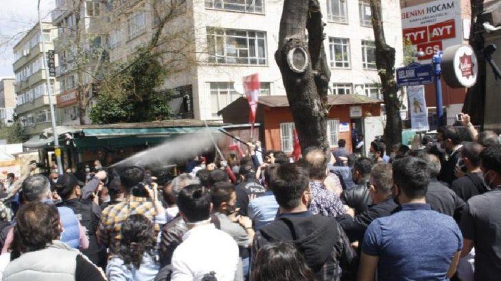 Ankara ve İzmir'de 1 Mayıs açıklamalarına polisten müdahale!