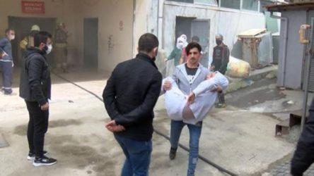 Bağcılar'da tekstil atölyesinde patlama: 1 işçi yaralandı