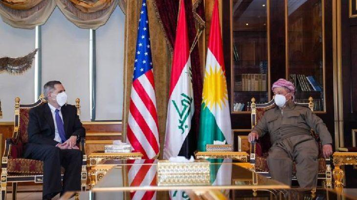 Barzani, ABD'li heyetle görüştü