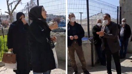 VİDEO | Camide 'kadın' kavgası: Benim gözümde havasın hava!