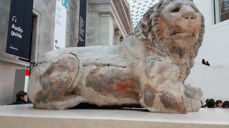 Datça'dan kaçırılan Knidos Aslanı Meclis gündeminde