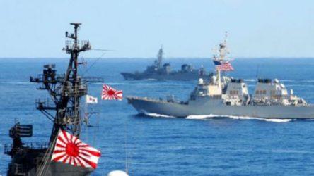 Japonya ABD ve Fransa ile Çin'e karşı ortak tatbikat düzenleyeceğini açıkladı