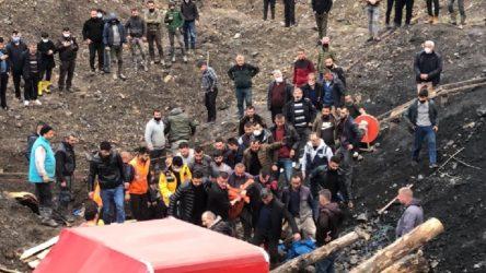 Kaçak maden ocağında göçük: 1 işçi hayatını kaybetti