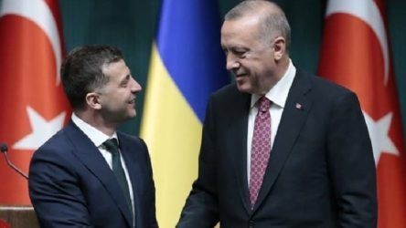 Erdoğan ve Ukrayna Devlet Başkanı Zelenskiy'den ortak basın toplantısı