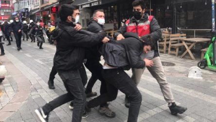 Boğaziçi öğrencilerinin eylemine polis müdahalesi: 30'dan fazla gözaltı