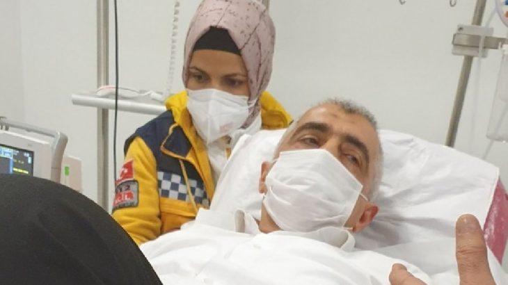 Darp edilerek gözaltına alınan HDP'li Gergerlioğlu yoğun bakıma alındı