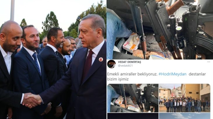 AKP'li isimden emekli amirallere silahlı tehdit!