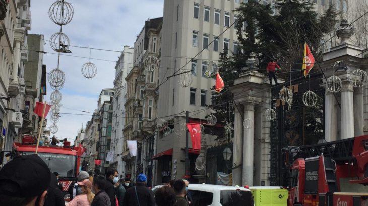 Galatasaray Lisesi'nde intihar girişimi: Yardım istemiyorum, iş istiyorum