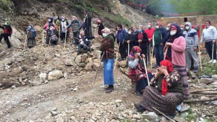 İkizdere'de talana karşı direnen köylülere Jandarma'dan müdahale