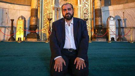Ayasofya imamı görevinden istifa etti