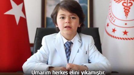 Sağlık Bakanı 'açıklama yapacağım' dedi, torununu paylaştı