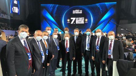 AKP'nin kongresindeyken Kayserililere