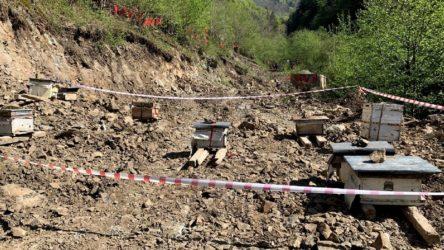İkizdere'de köylülerin Cengiz'e karşı direnişi sürüyor: Vadi girişine arı kovanları
