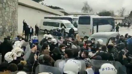 Migros işçileri, patronun evi önünde darp edilerek gözaltına alındı!