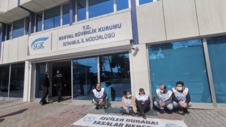 PTT işçilerine, direnişlerinin 107'nci gününde gözaltı!