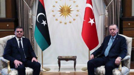 Türkiye-Libya görüşmesi sona erdi