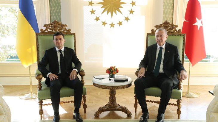 Erdoğan, Ukrayna Devlet Başkanı Zelenskiy ile görüşecek