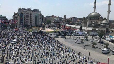 Taksim'de cami açılışı serbest, Gezi anması yasak!